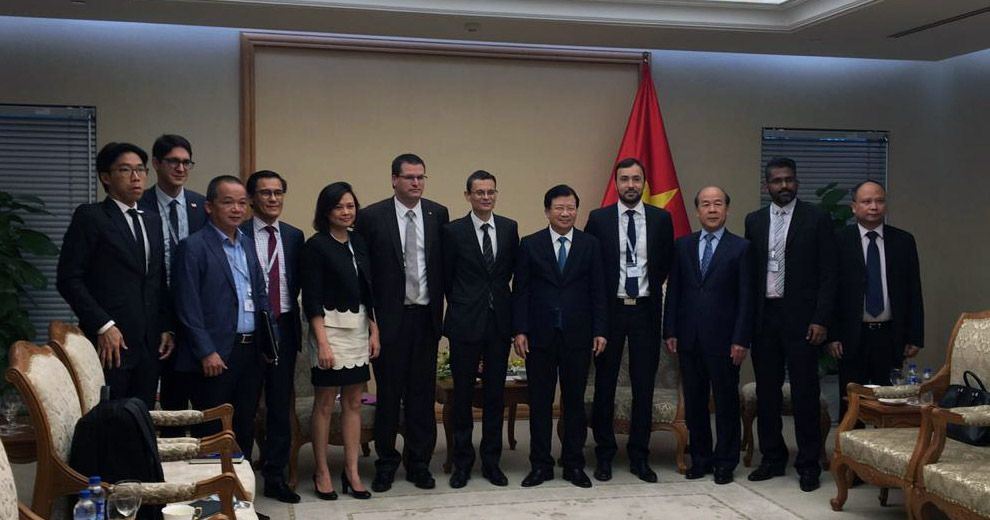 Vice Prime Minister congratulates ADP Ingénierie for its commitment in Vietnam